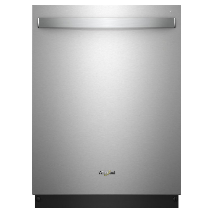 "Whirlpool - 24""Built-In Dishwasher - Stainless steel"