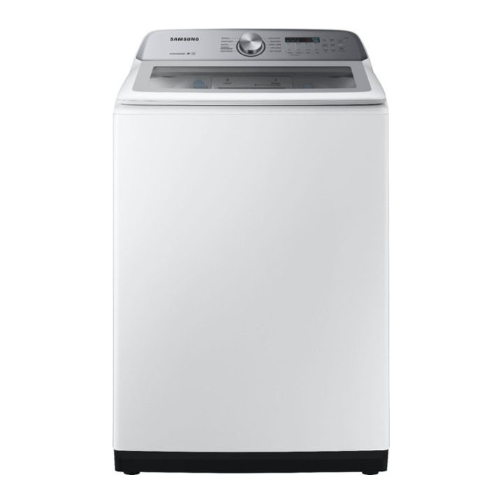 Samsung 5.0 Cu. Ft. 10-Cycle Top-Loading Electric Washer in White