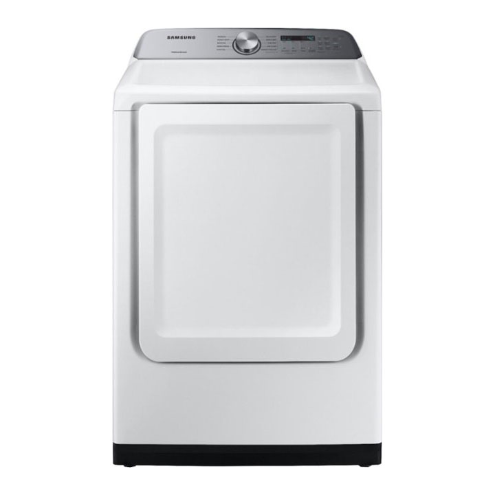 Samsung 7.4 cu. ft. Electric Dryer with Sensor Dry in White