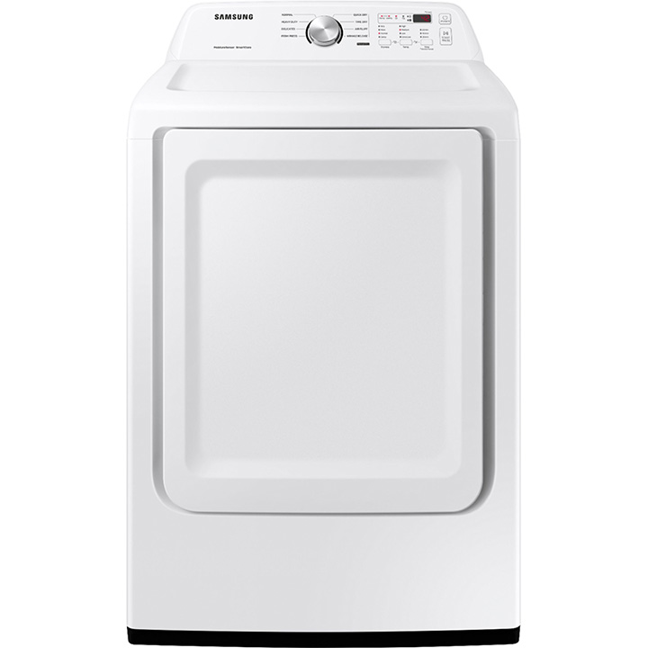 Samsung 7.2 cu. ft. Gas Dryer with Sensor Dry - White